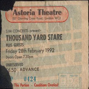 Thousand Yard Stare - Tickets And Fliers page at the ...